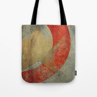 captain swan Tote Bags featuring Captain by Fernando Vieira