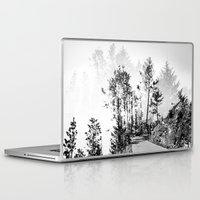 woodland Laptop & iPad Skins featuring Woodland by Schwebewesen • Romina Lutz