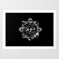 arab Art Prints featuring Arab. by Manoleenn