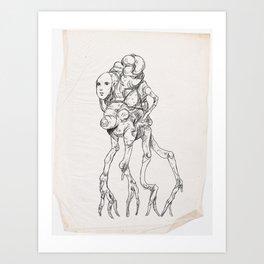 Sketch #8 Art Print