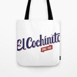 El Cochinito since 1988 Tote Bag