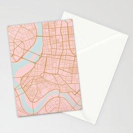 Taipei map, Taiwan Stationery Cards