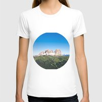 italian T-shirts featuring Italian Alps by GF Fine Art Photography