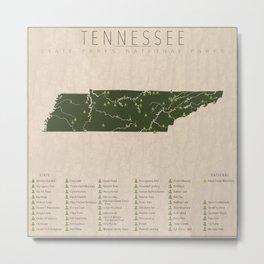 Tennessee Parks Metal Print