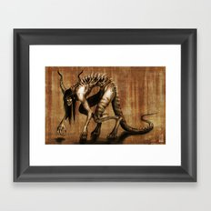 Corrupted Framed Art Print
