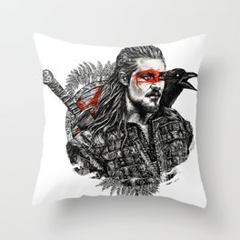 Uhtred Ragnarson Throw Pillow