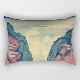 Amazed at Dinyia Rectangular Pillow