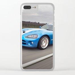 Dodge Viper Clear iPhone Case