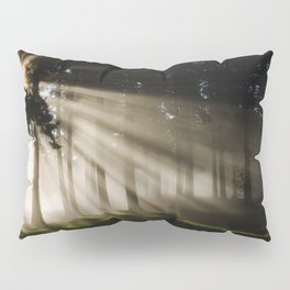 Boring Forest Pillow Sham