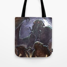GREAT ANCIENT CTHULHU Tote Bag