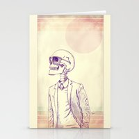 gentleman Stationery Cards featuring Gentleman by Mike Koubou