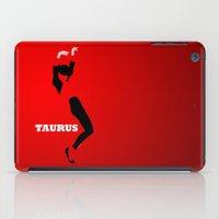 taurus iPad Cases featuring Taurus by Ezidras Farinazzo Lacerda Filho