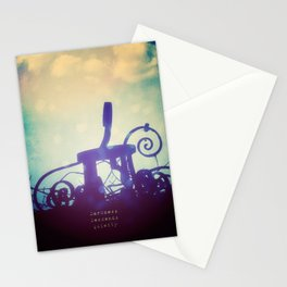 Waiting in the Shadows Stationery Cards