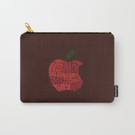 Steve Jobs on Consumers Carry-All Pouch