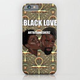 BLACK LOVE - ANKH ANKARA iPhone Case