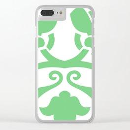 """MOSAICO"" verde Clear iPhone Case"