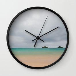 Misty Morning Mokes  Wall Clock