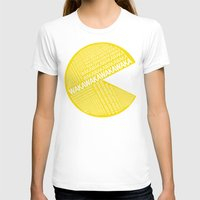 pac man T-shirts featuring Pac-Man Typography by Kody Christian