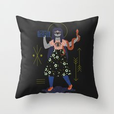 Witch Series: Spell Book Throw Pillow