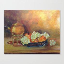Compoição com frutas II (Composition with fruits II) Canvas Print