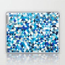 Icy triangles Laptop & iPad Skin