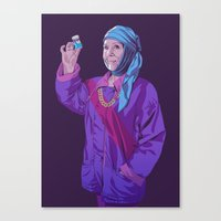 90s Canvas Prints featuring 80/90s - Ol by Mike Wrobel
