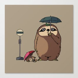 SlothTORO Canvas Print