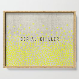 Serial Chiller on Confetti Serving Tray