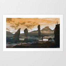 The Kingdom Art Print