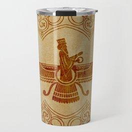 Farohar - faravahar -Fravashi Travel Mug