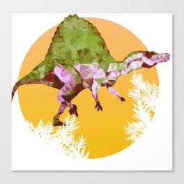 Party Spinosaurus Canvas Print