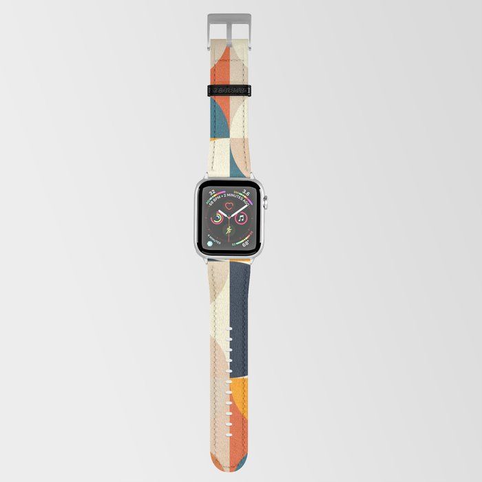 mid century abstract shapes fall winter 1 Apple Watch Band