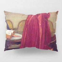 John William Waterhouse The Crystal Ball Pillow Sham