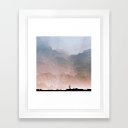 I wander Framed Art Print