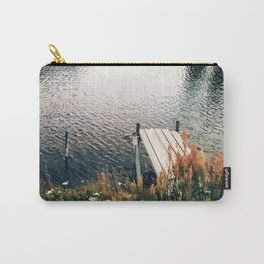 Flower Lake Carry-All Pouch