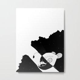 Hanklerfish  Metal Print