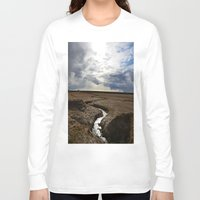 iceland Long Sleeve T-shirts featuring iceland by katie moon