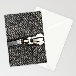 A opening zip Stationery Cards