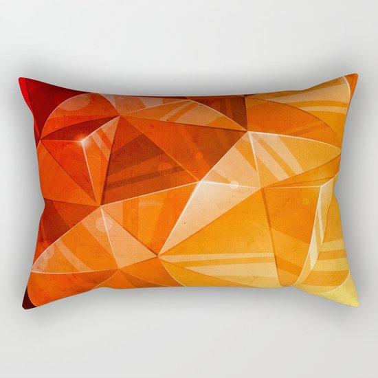 Tricolor Rectangular Pillow