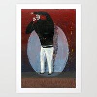 steve jobs Art Prints featuring steve jobs by Robert Deutsch
