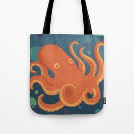 Water Octopus Tote Bag