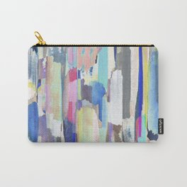 Multicoloured abstract marker painting Carry-All Pouch