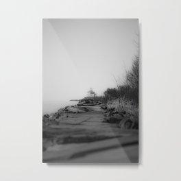 Ashtabula Harbor Lighthouse Metal Print