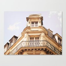 Paris Apartment Canvas Print