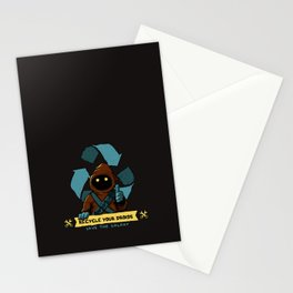 Recycle your droid Stationery Cards