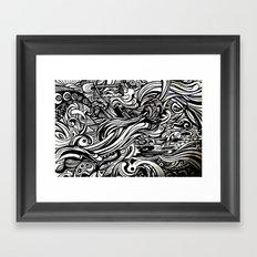 REM 4 Framed Art Print