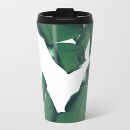 Banana Leaves Tropical Vibes #5 #foliage #decor #art #society6 Travel Mug