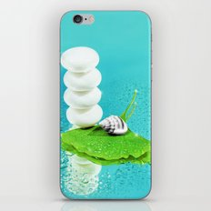 WELLNESS GINKGO iPhone & iPod Skin