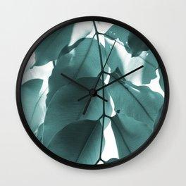 Leaves VI Wall Clock