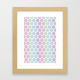 Pastel Kind o Day Framed Art Print